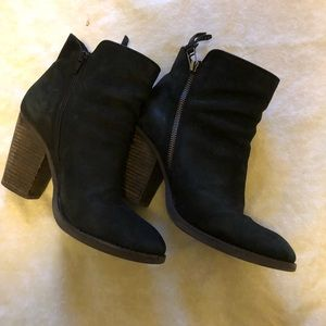 Steve Madden brushed leather booties